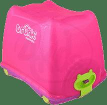 TRUNKI Box do przechowywania zabawek 4w1 różowy