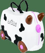 TRUNKI Walizka + jeździk – krowa Frieda