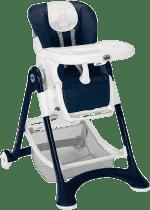 CAM Campione krzesełko do karmienia Elegant – niebieskie