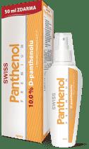 SWISS Panthenol 10% PREMIUM spray 150 + 25ml Bezplatne