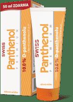 SWISS Panthenol 10% PREMIUM telové mlieko 200 + 50ml zadarmo