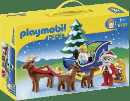 PLAYMOBIL Mikołaj z saniami reniferów