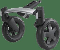 QUINNY Buzz Oś przednia 4-kołowa do wózka kolor czarny