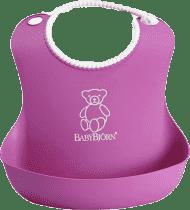 BABYBJÖRN Śliniaczek Soft - różowy