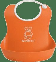 BABYBJÖRN Śliniaczek Soft – pomarańczowy