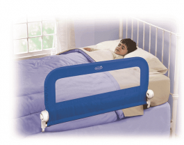 SUMMER INFANT Jednostranná zábrana na postel modrá