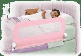 SUMMER INFANT zábrana na posteľ (jednostranná) - ružová