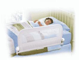 SUMMER INFANT Jednostronna blokada na łóżko biała