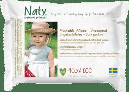 NATY NATURE BABYCARE ECO 42 ks, toaletné - vlhčené obrúsky