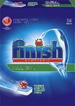 FINISH Tabletki All-in-1 Tabletki do zmywarek 56 Szt.
