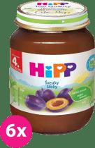 6x HIPP BIO slivkový (125 g) - ovocný príkrm