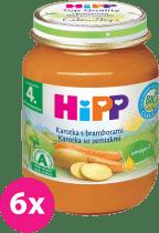 6x HIPP BIO karotka s brambory (125 g) - zeleninový příkrm
