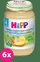 6x HIPP zemiaky s králičím mäsom a feniklom (190 g) - mäso-zeleninový príkrm