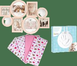 Zestaw na porodówkę dla dziewczynki – średni
