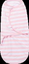 SUMMER INFANT Zavinovačka SwaddleMe S ružovo / biely prúžok