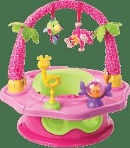 SUMMER INFANT Super sedátko 3v1 ružové