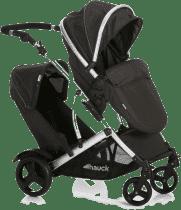 HAUCK Wózek bliźniaczy Duett 2 black 2016