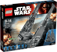 LEGO® Star Wars TM Kylo Ren's Command Shuttle™ (Kylo Renova velitelská loď)