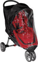 BABY JOGGER Pelerynka City Mini / Mini GT - Transparent