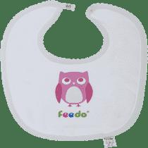FEEDO śliniaczek sowa dziewczynka