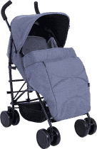 PETITE&MARS Pokrowiec na nóżki do wózka Musca - Blue Melange