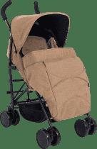 PETITE&MARS Pokrowiec na nóżki do wózka Musca - Sahara Melange