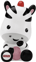 FISHER-PRICE Striekacie zebra do vane
