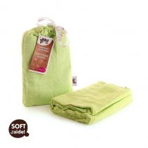 KIKKO Bambusowy otulacz Colours 120x120 (1 szt.) – lime