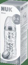 NUK Set Silver Edition 60 rokov - fľaša + cumlík