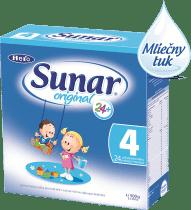 Sunar original 4 (500 g) - dojčenské mlieko