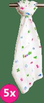 FEEDO látkové plienky, 100% bavlna, 5 ks, 70x70 cm