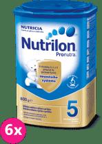 6x NUTRILON 5 ProNutra (800g) - dojčenské mlieko