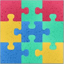 OSMOST Molitanová podložka – Puzzle