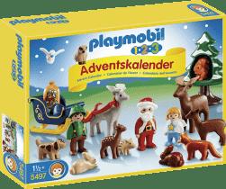 PLAYMOBIL Adventní kalendář 1.2.3