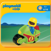 PLAYMOBIL Motorka (1.2.3)