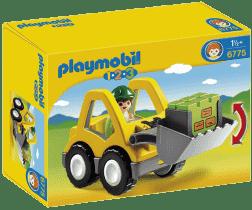 PLAYMOBIL Čelný nakladač (1.2.3)