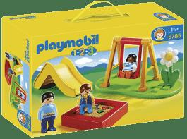 PLAYMOBIL Dětské hřiště (1.2.3)