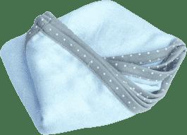 LULLALOVE Otulacz SupeRRO Newborn Błękit