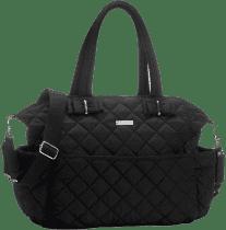 STORKSAK Přebalovací taška Bobby černá