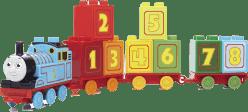 MEGA BLOKS 123 Lokomotywa Tomek - pociąg edukacyjny