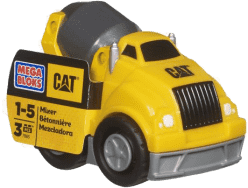 MEGA BLOKS CAT Betoniarka