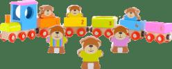 FIESTA CRAFTS Vláček s medvídky