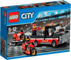 LEGO® City Great Vehicles Transporter motocykli