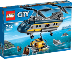 LEGO® City Deep Sea Explorers Helikopter badaczy