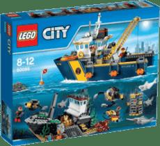 LEGO® City Deep Sea Explorers Plavidlo pre hlbinný morský výskum