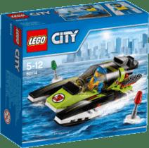LEGO® City Great Vehicles Łódź wyścigowa