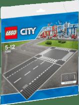 LEGO® City Supplementary Odcinek prosty i skrzyżowanie