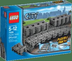 LEGO® City Trains Ohybné koľajnice