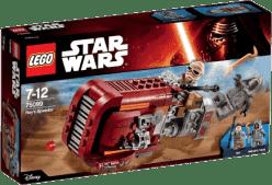 LEGO® Star Wars TM Rey 's Speeder ™ (Reyin speeder)