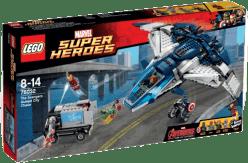 LEGO® Super Heroes Mestská naháňačka s tryskáčom Avengers Quinjet